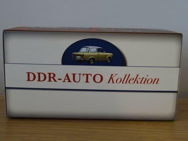 ATLAS JL07 1/43 O Scale DDR AUTO Collection  IFA F9 CABRIOLET 468 Cream / Brown